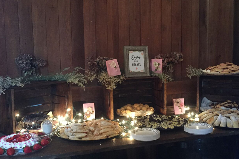 Wedding Foods | Filbert B&B, Danielsville, PA