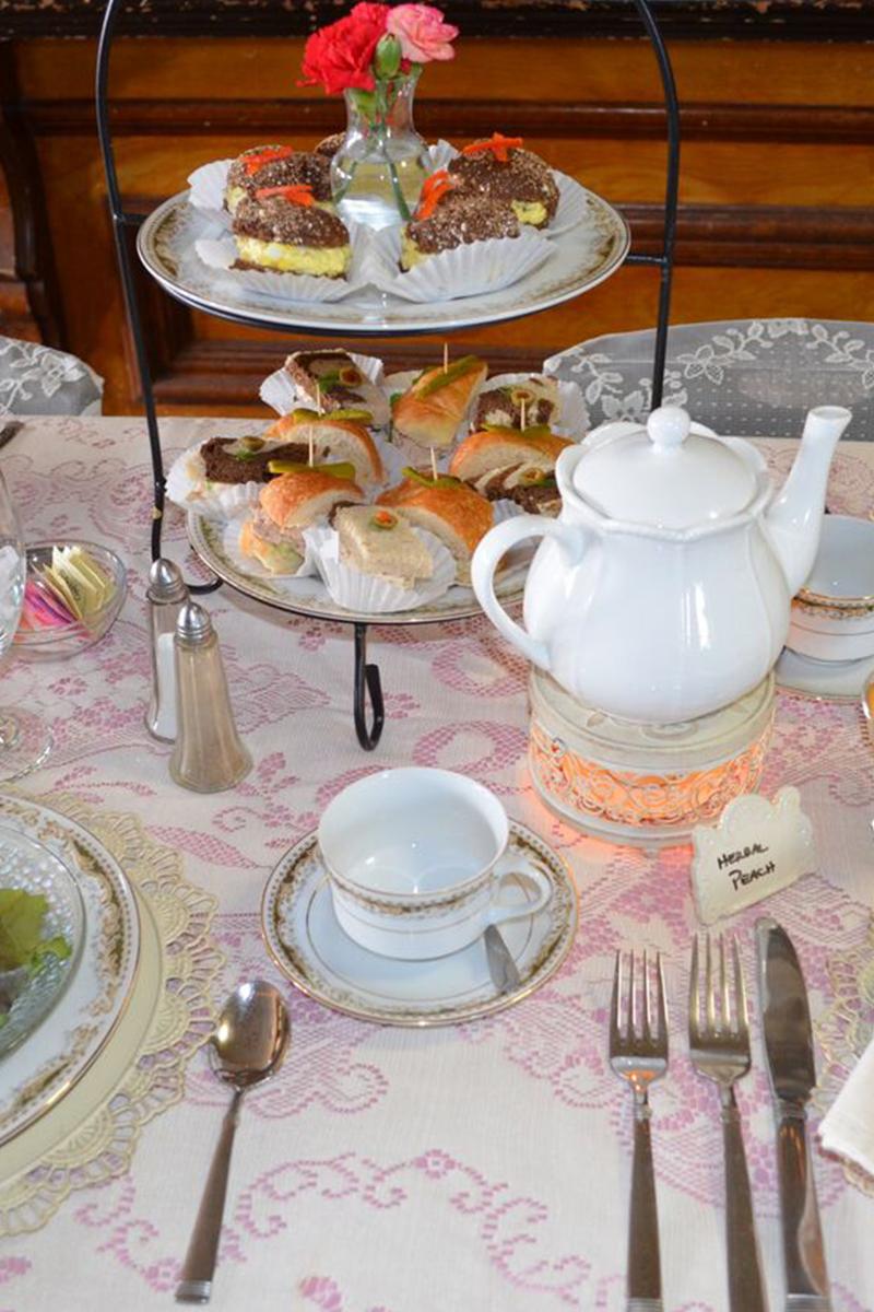 Wedding Food Decoration | Filbert B&B, Danielsville, PA