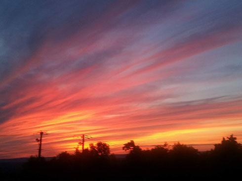 Beautiful Sky | Filbert B&B, Danielsville, PA