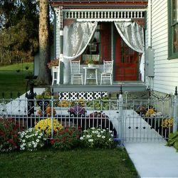 Front House Gate | Filbert B&B, Danielsville, PA