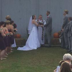 Bride and Groom Wedding | Filbert B&B, Danielsville, PA