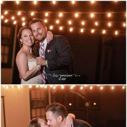 Bride and Groom Kissing | Filbert B&B, Danielsville, PA
