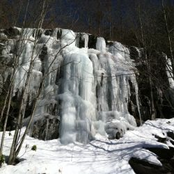 Snowy Rock | Filbert Bed and Breakfast, near Pocono Mountains, PA