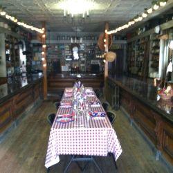 Wedding Table Setup | Filbert B&B, Danielsville, PA