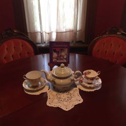 Table with Coupon | Filbert B&B, Danielsville, PA