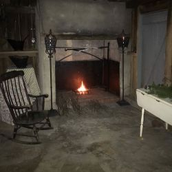 House Fireplace | Filbert B&B, Danielsville, PA